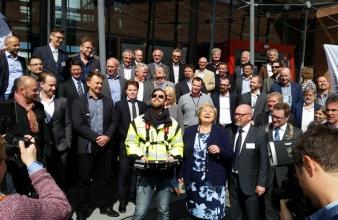 Orbiton flyr for statsminister Erna Solberg