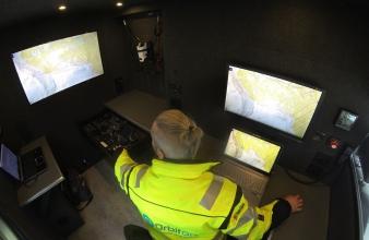 Orbiton presents an immediate response vehicle