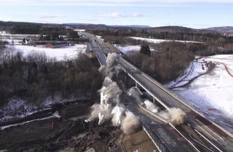 Orbiton deltar i kompleks og høyprofilert operasjon for Statens vegvesen