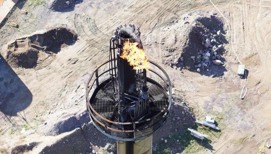 Flammetårn-inspeksjon